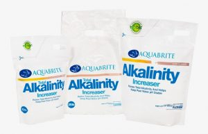 Aquabrite Alkalinity Increase Group Diff Sizes